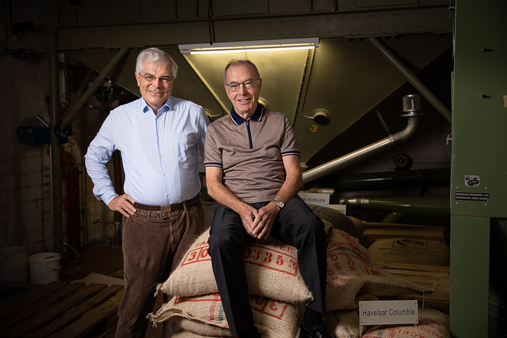 Geschäftsleitung Illycafé: Herr Seitz und Herr Isler.