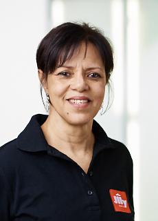 Illycafé Mitarbeiterin Juana Gomez