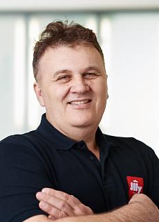 Illycafé Mitarbeiter Luka Joksic