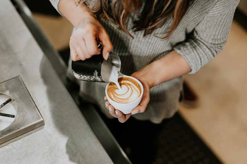 Illycafé Barista Kaffeekunst
